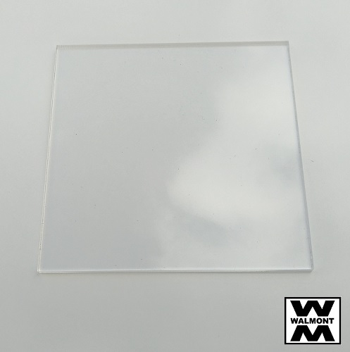 Acrylic Sheet Square 300mm X 300mm Clear Walmont